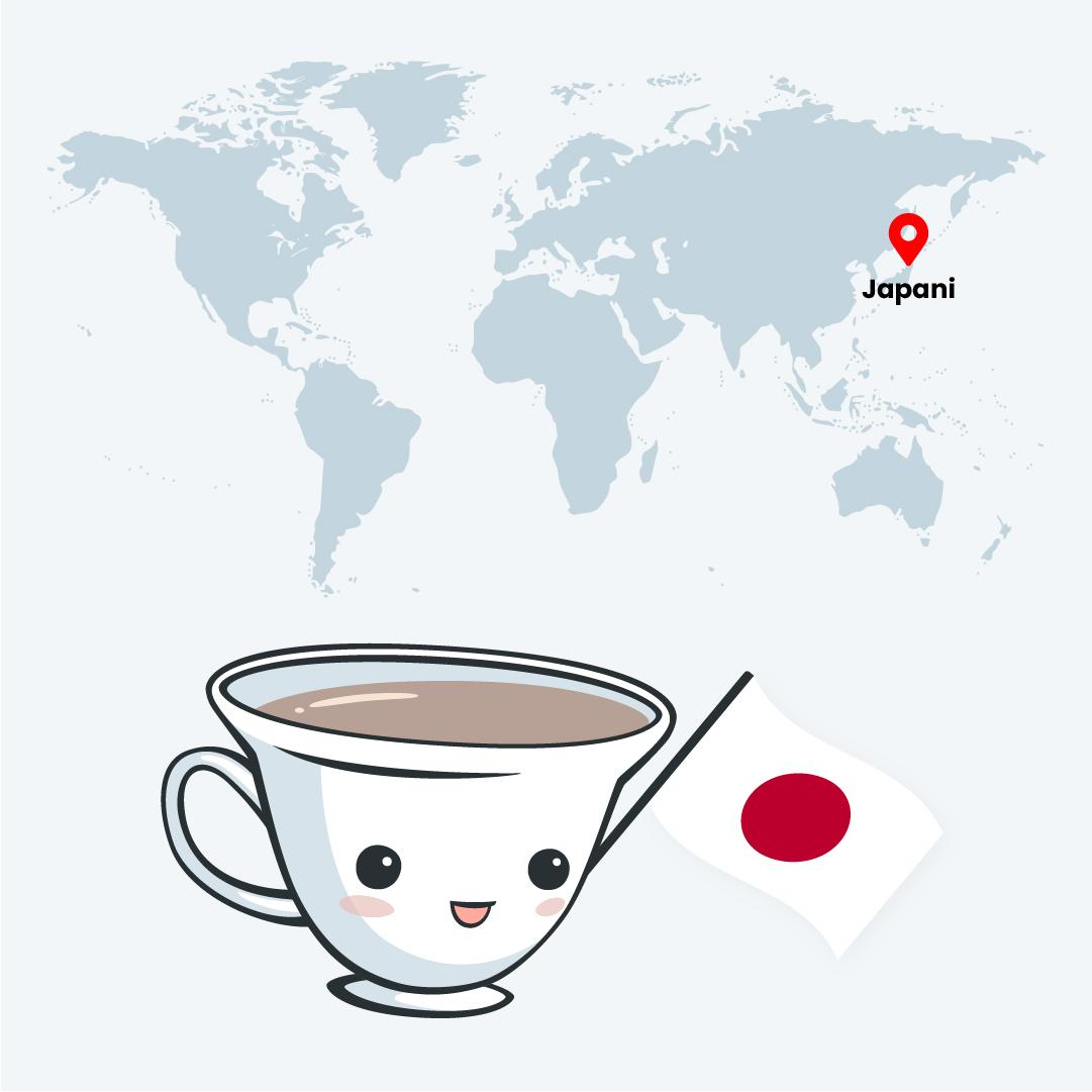 Japanin tee